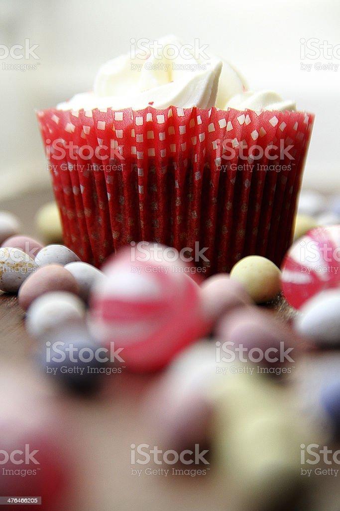 Muffin e uova di Pasqua. foto stock royalty-free