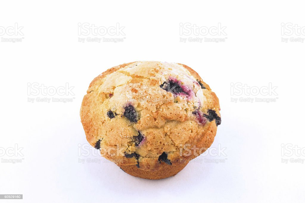 Muffin Blueberry royalty-free stock photo