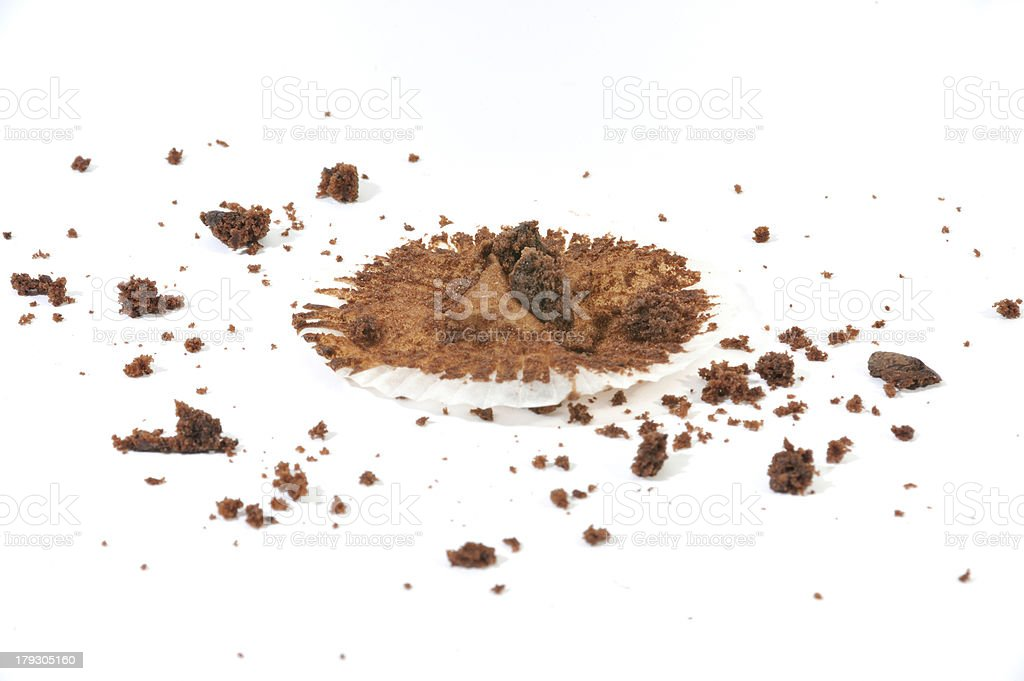 Muffin Crumbs stock photo