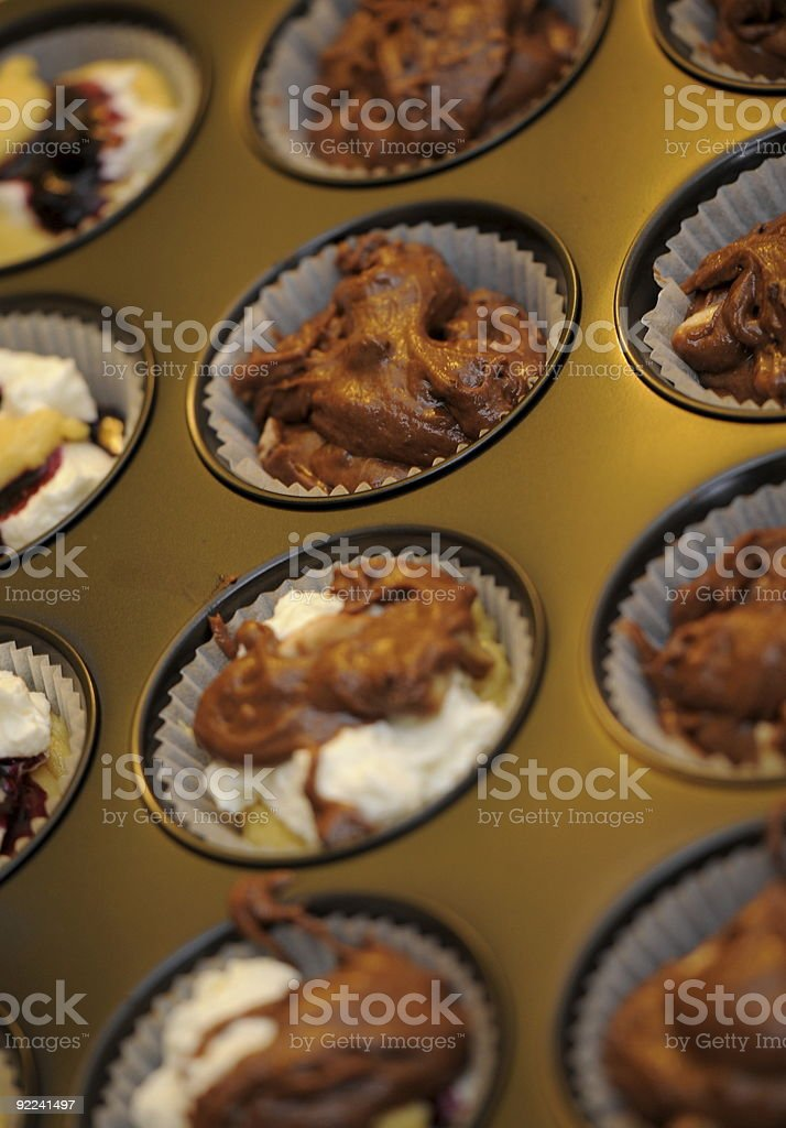 Muffin - Raw royalty-free stock photo