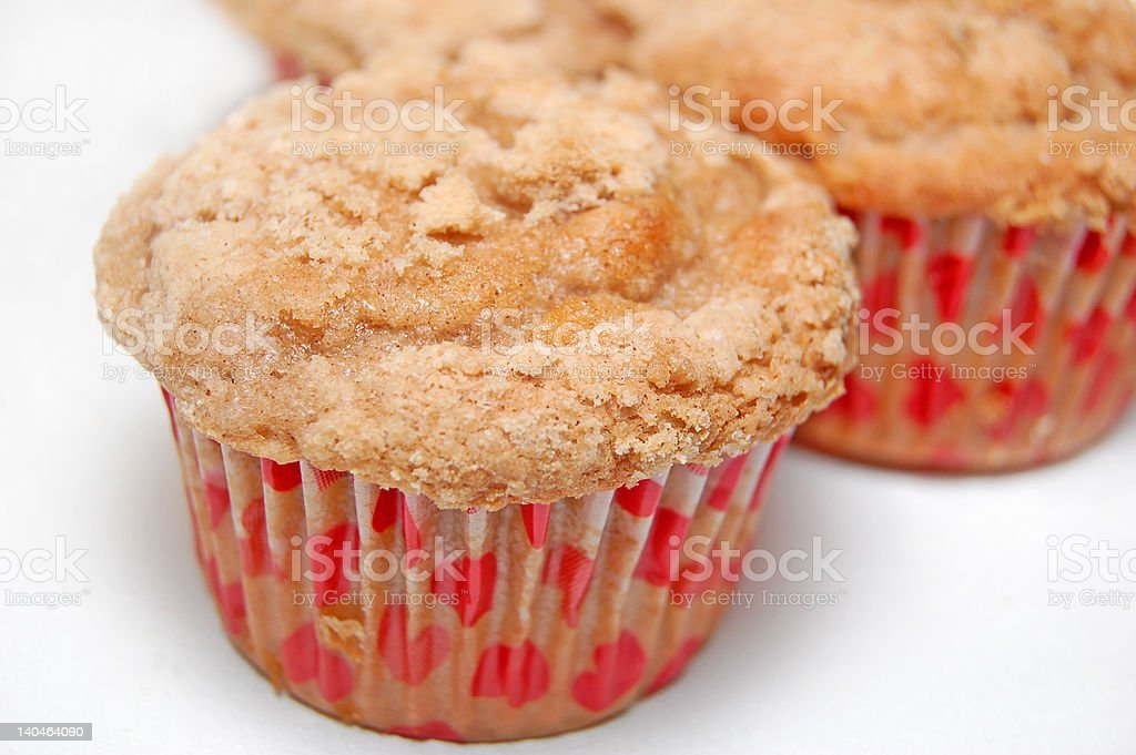 muffins of love stock photo