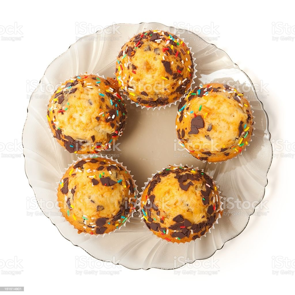 Muffins royalty-free stock photo