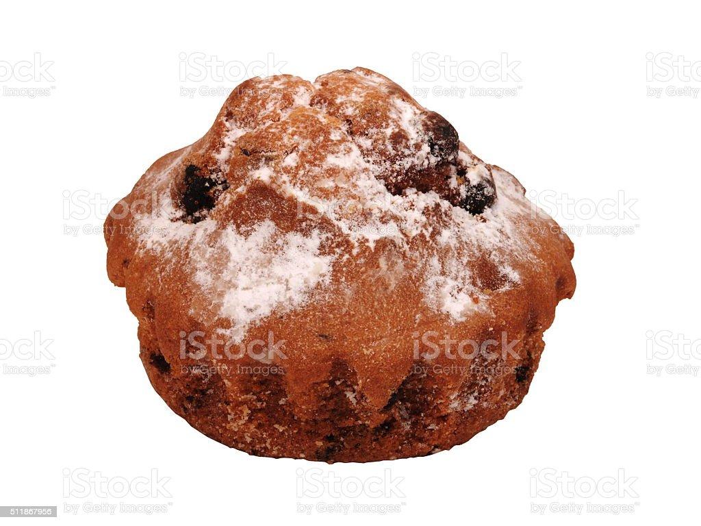Muffins mit Rosinen Lizenzfreies stock-foto
