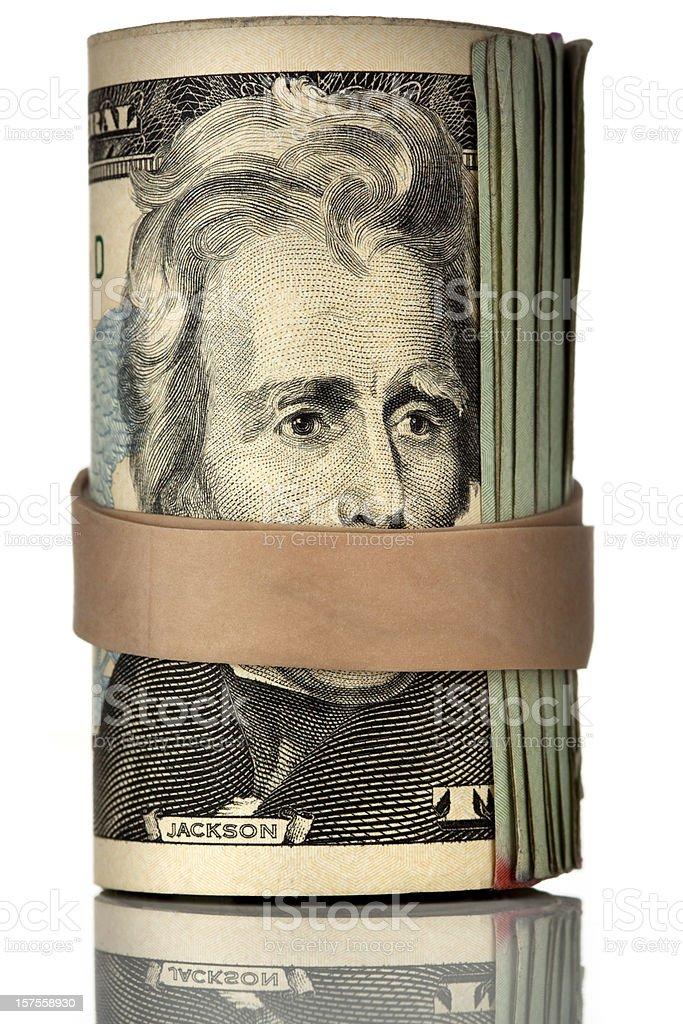 muffled money royalty-free stock photo