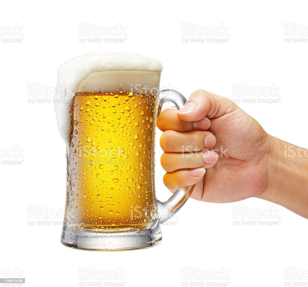 mug of beer royalty-free stock photo