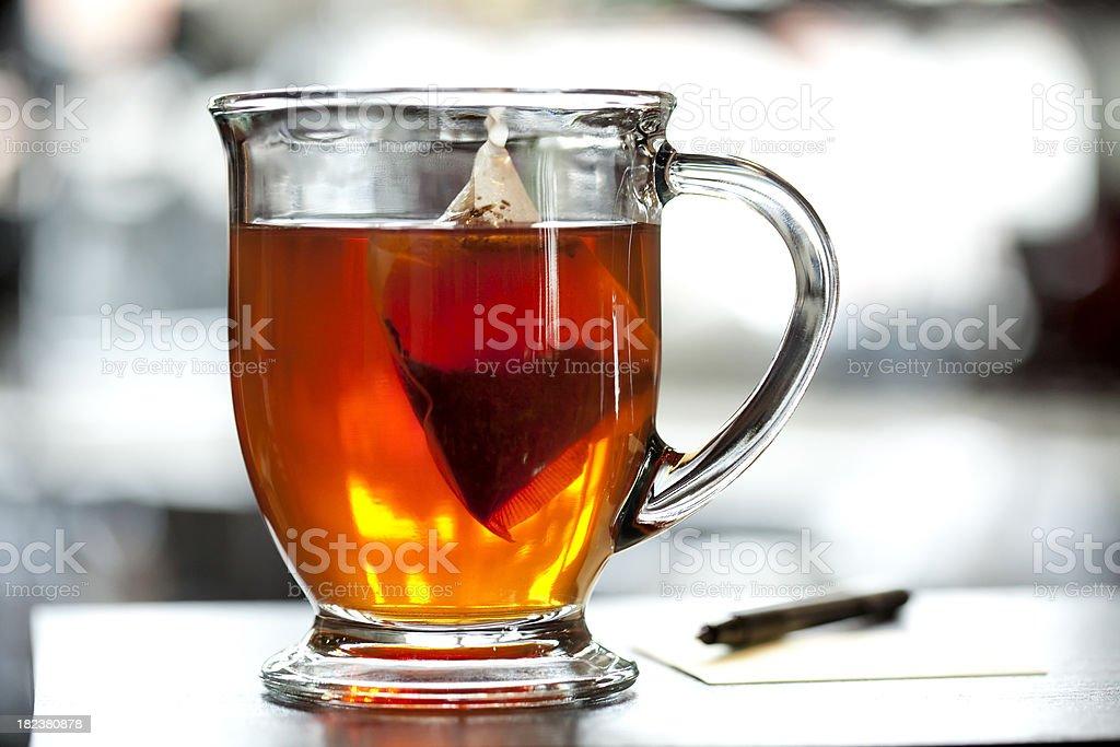 Mug of Herbal Tea royalty-free stock photo