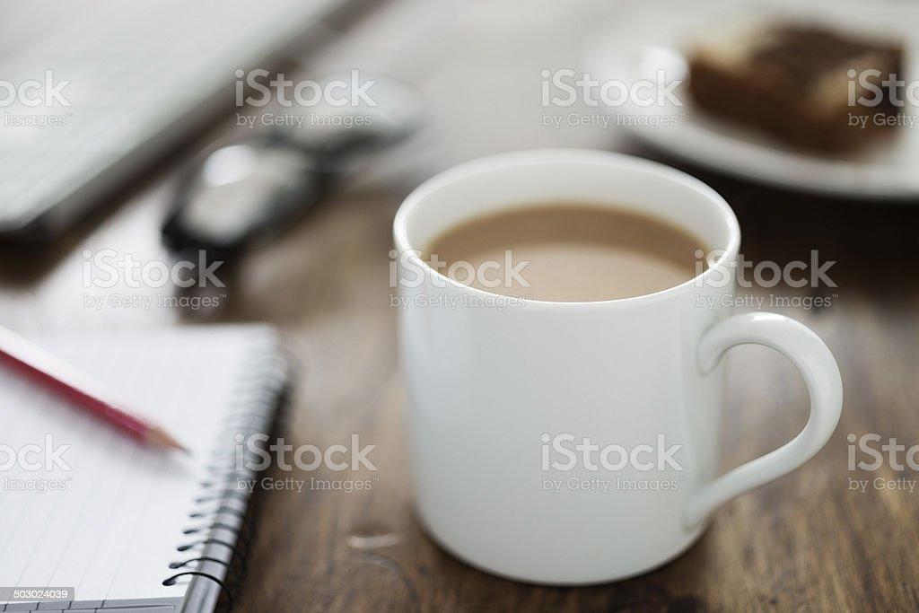 Mug of Tea stock photo