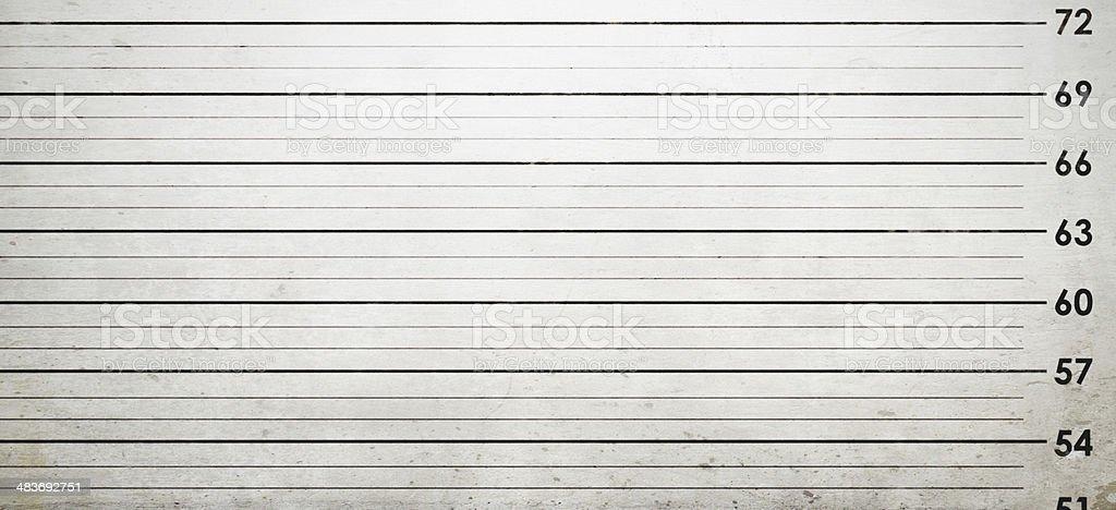 Mug Shot Background stock photo