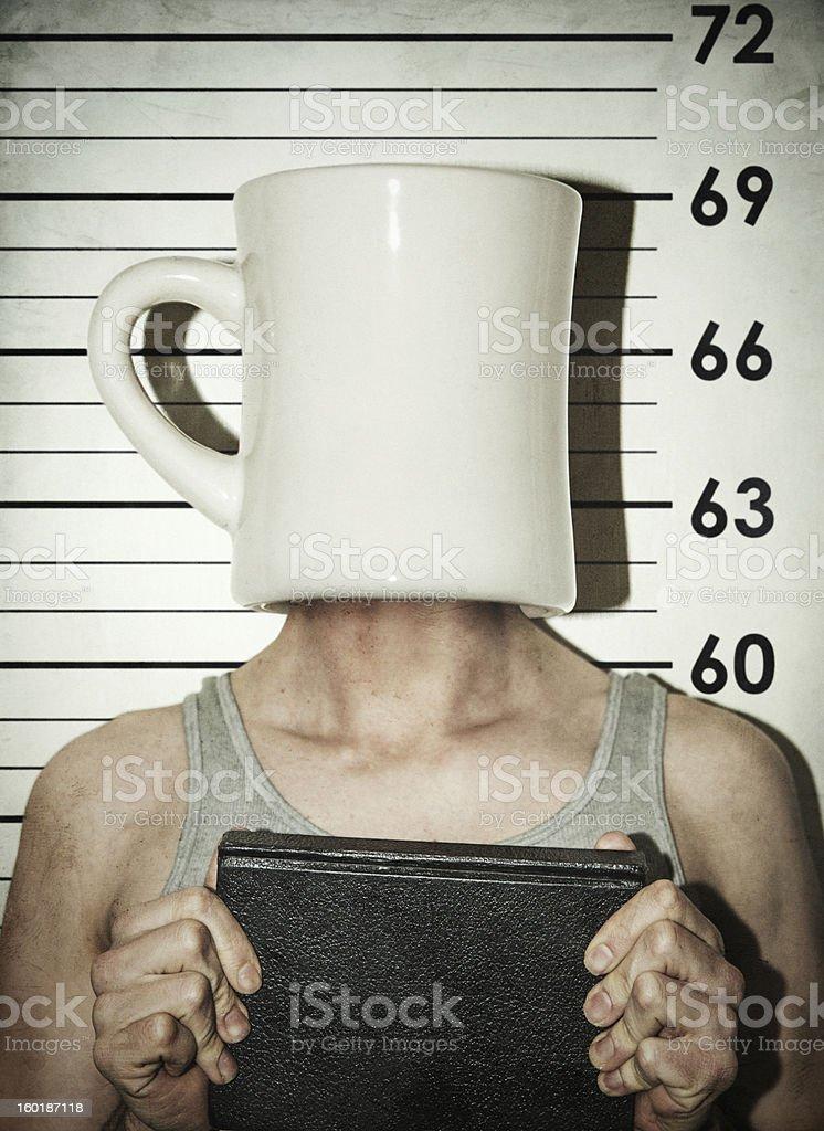 Mug Shot royalty-free stock photo