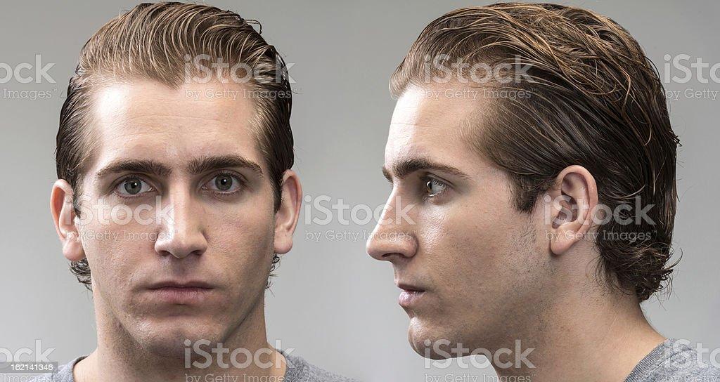 Mug Shot (real people) stock photo