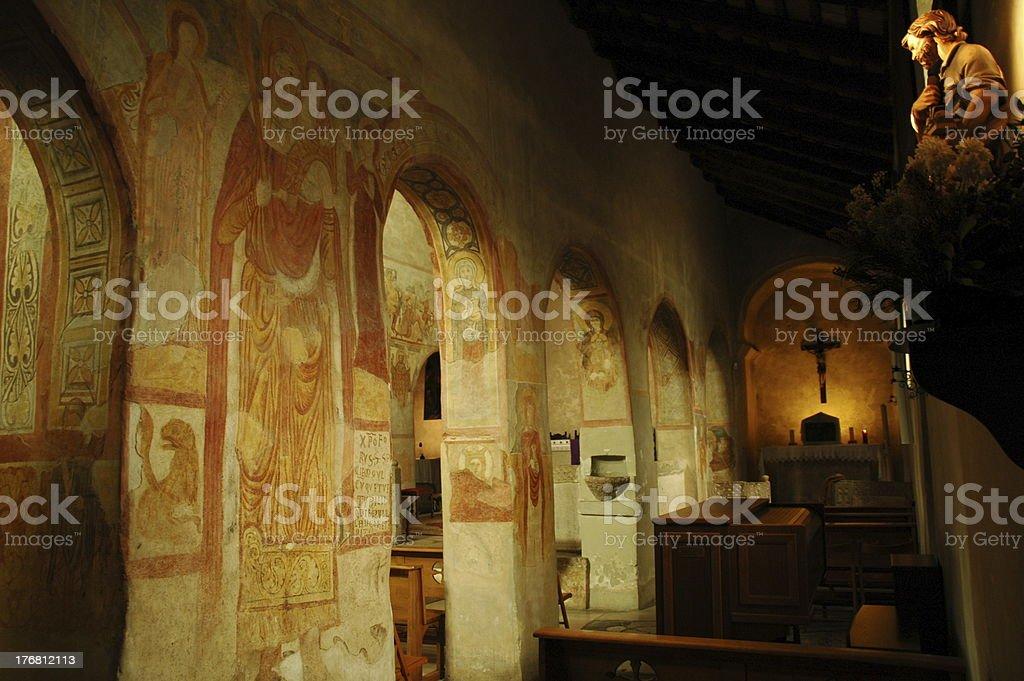 Muggia church royalty-free stock photo