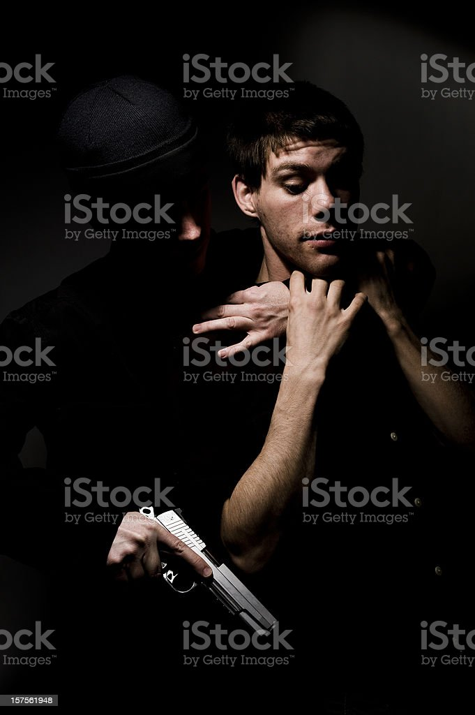 Mugging stock photo