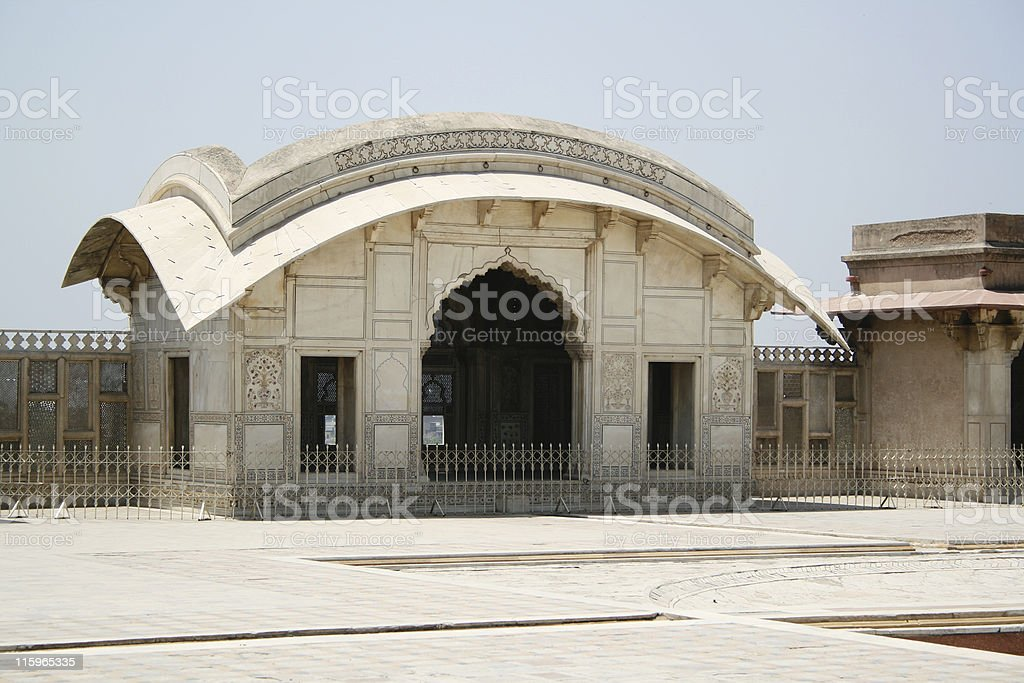 Mughal Architecture royalty-free stock photo
