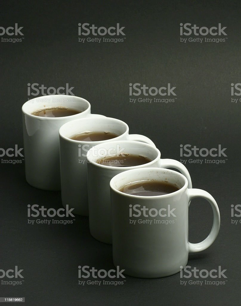 Mugs royalty-free stock photo