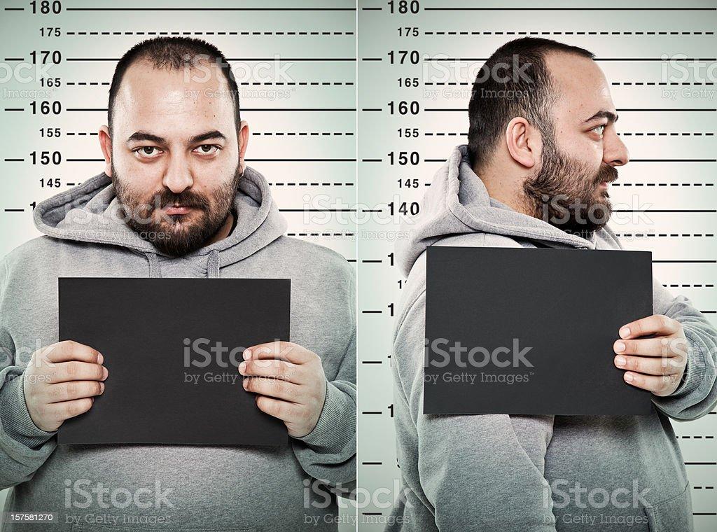 mugshot stock photo