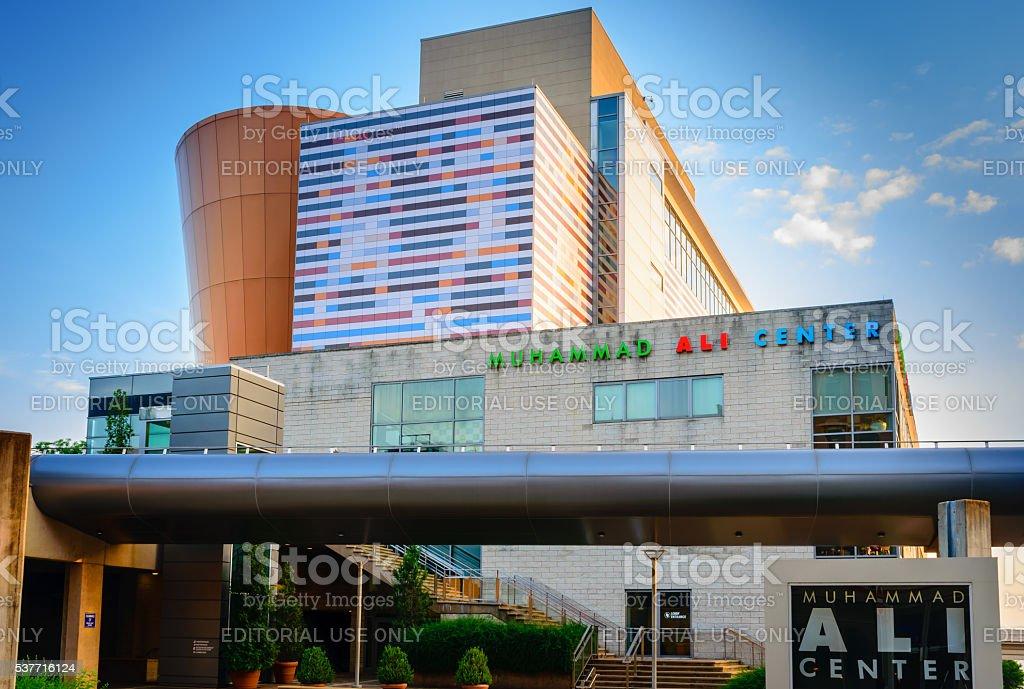 Muhammad Ali Center Louisville KY stock photo