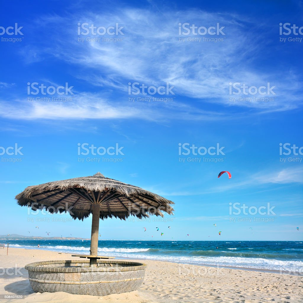 Mui Ne beach stock photo