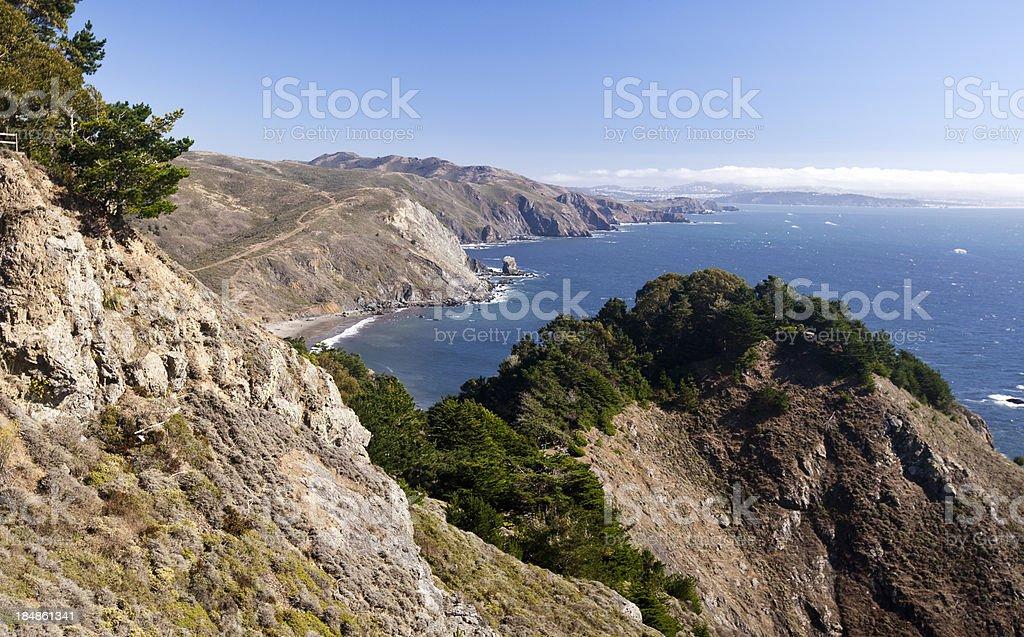 Muir Beach royalty-free stock photo