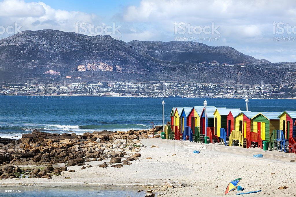 Muizenberg, Cape Town stock photo