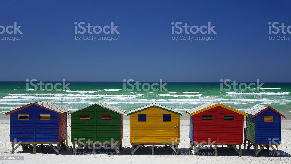Muizenberg stock photo