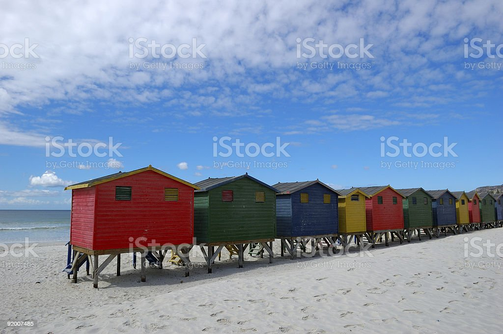 Muizenberg royalty-free stock photo