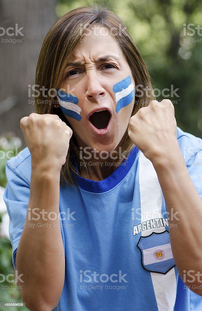 Mujer de Futbol royalty-free stock photo