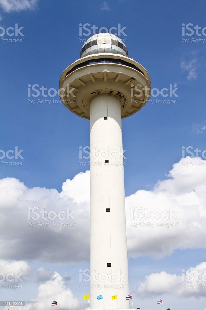 Mukdahan tower royalty-free stock photo