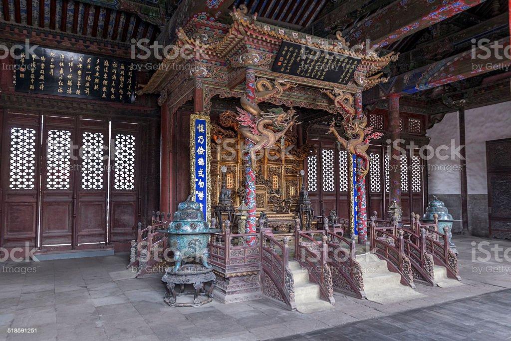 Mukden Palace stock photo