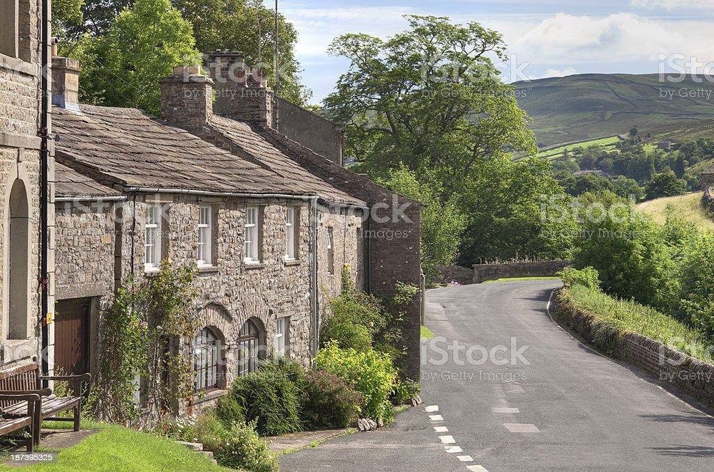 Muker, Yorkshire stock photo