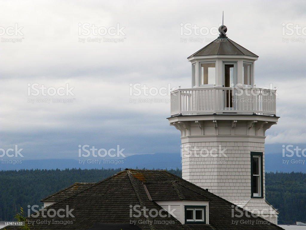 Mukilteo Lighthouse Washington stock photo