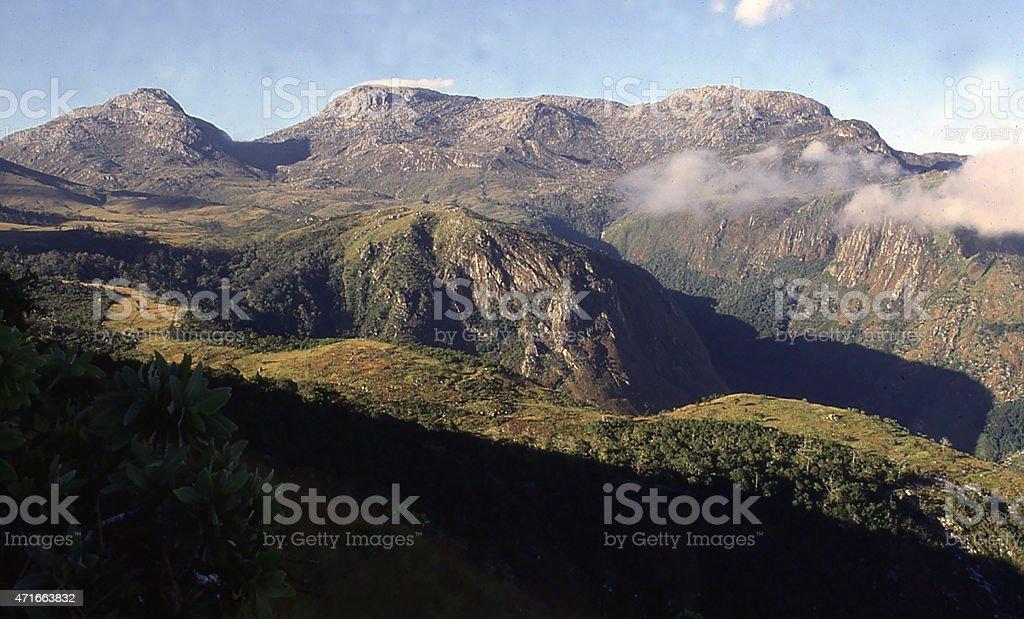 Mulanje Massif and Forest Reserve Malawi Southern Africa stock photo