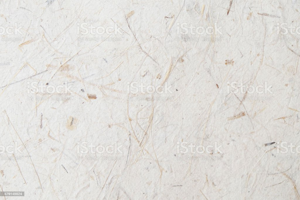 Mulberry paper texture stock photo
