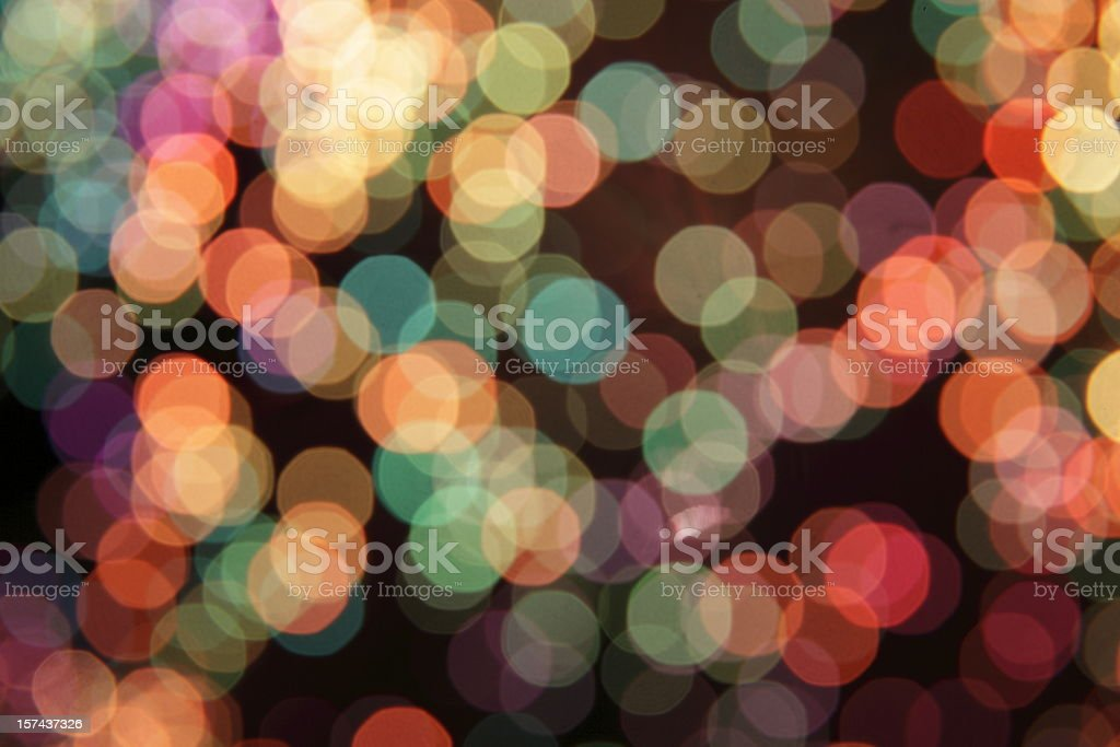 mulitcolored defocused light dots nice background stock photo