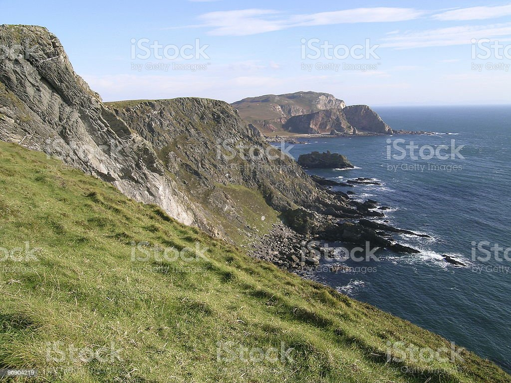 mull of oa stock photo