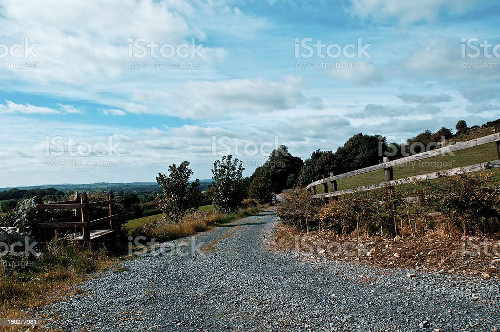 Mullagh Hill royalty-free stock photo