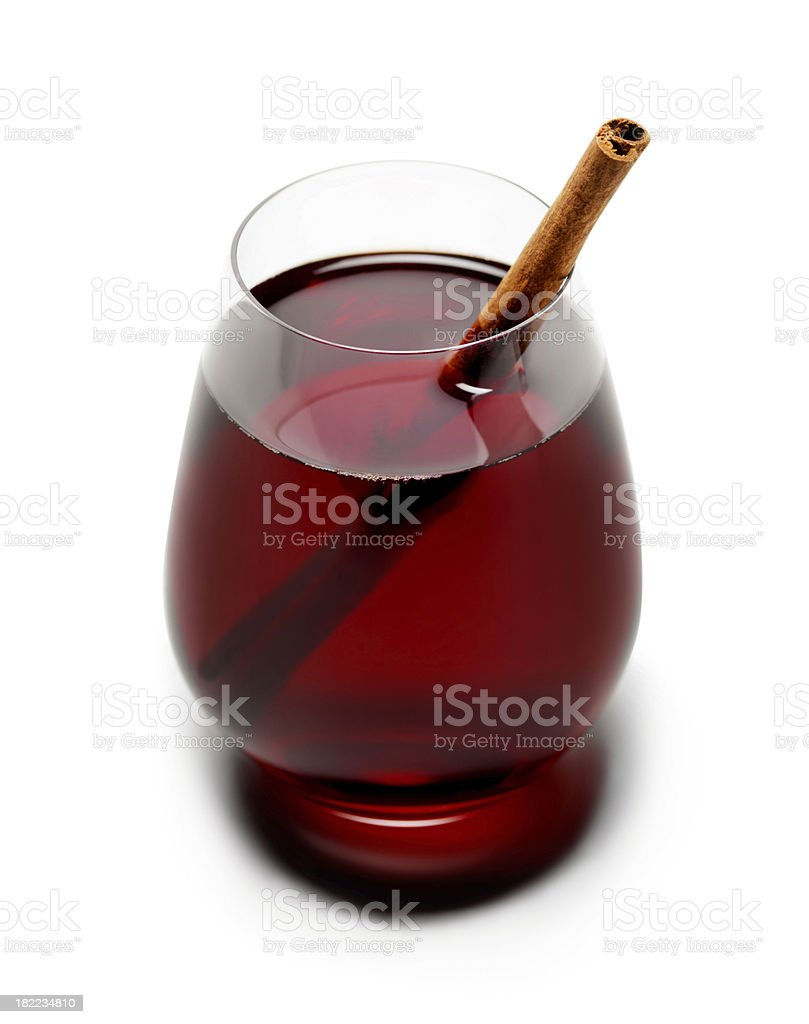 Mulled Red Wine royalty-free stock photo