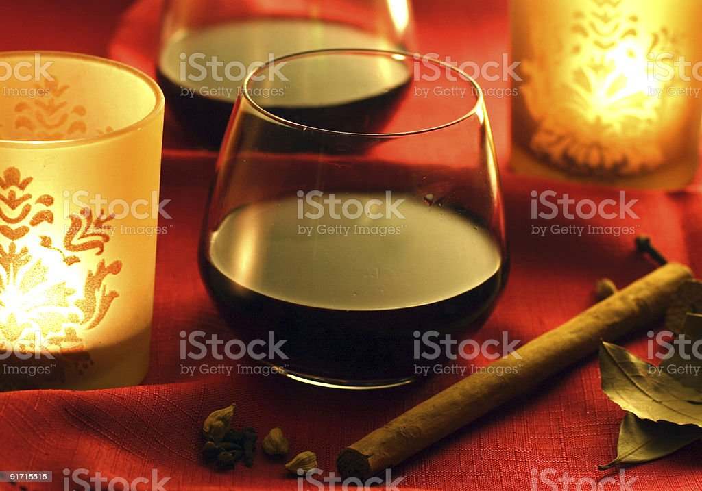mulled wine royalty-free stock photo