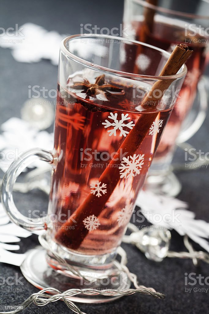 Mulled wne royalty-free stock photo