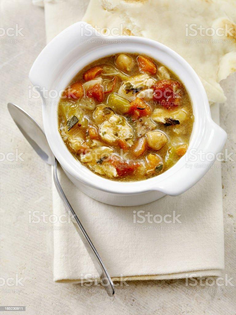 Mulligatawny Soup royalty-free stock photo