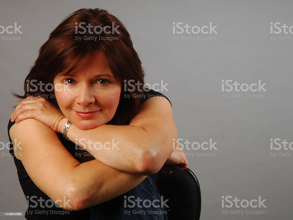 Mulling it over stock photo
