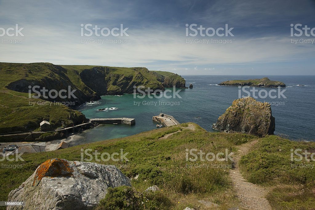 Mullion Cove stock photo
