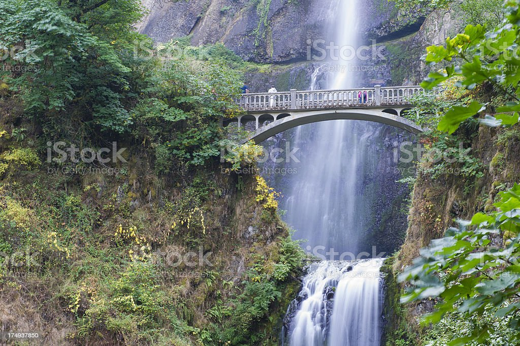 Multanomah Falls, Oregon stock photo