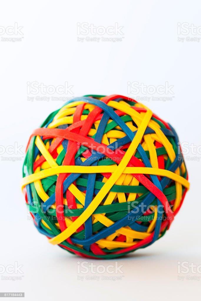 Multi color ball stock photo