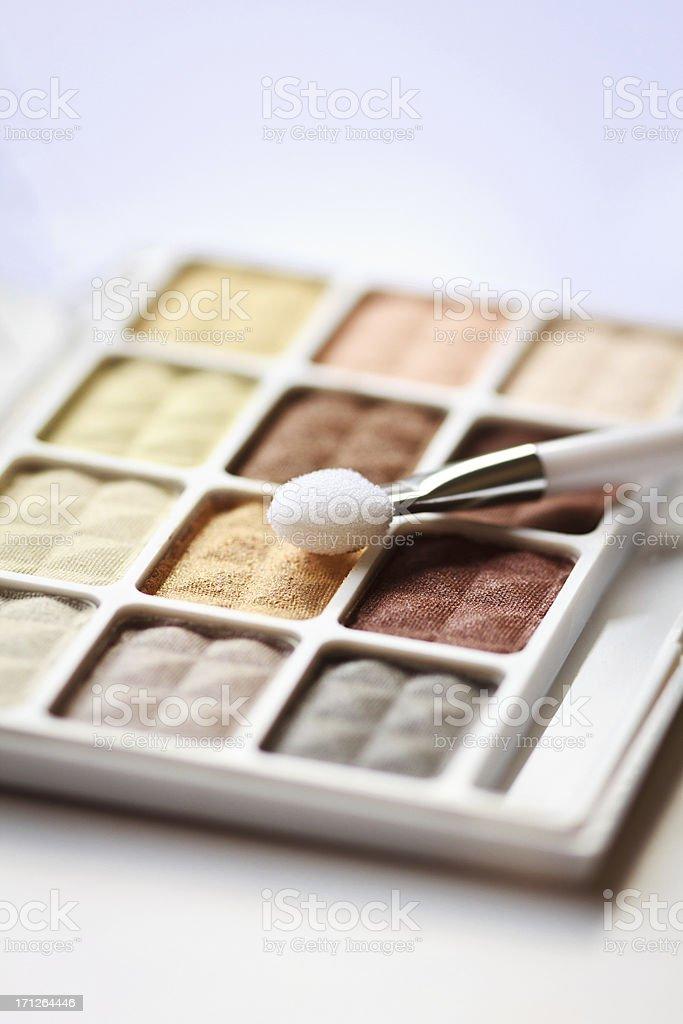Multi color Eyeshadows stock photo