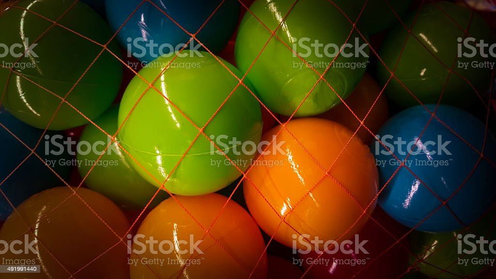 multi colored ball stock photo