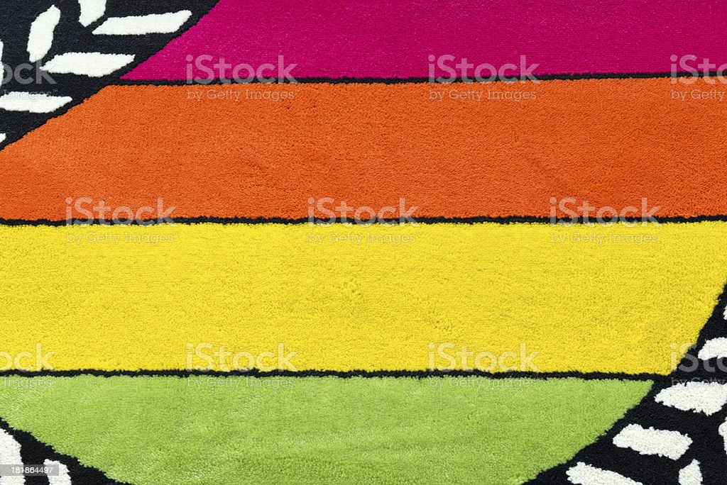Multi Colored Blanket royalty-free stock photo