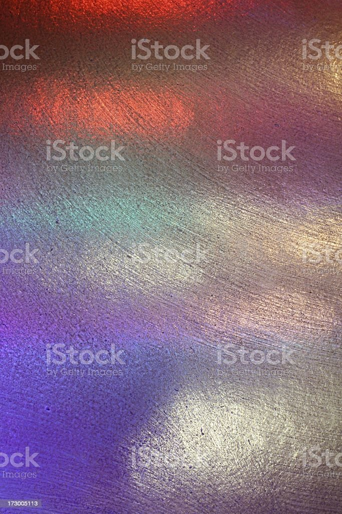 multi colored foil reflection royalty-free stock photo