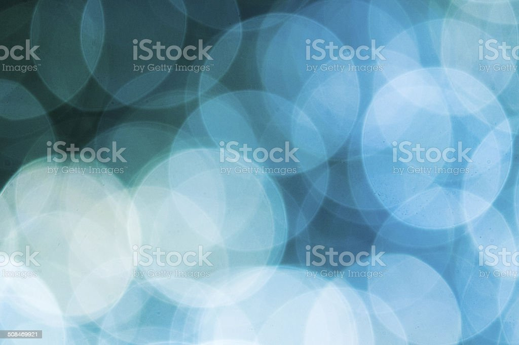 Multi colored spots of light stock photo