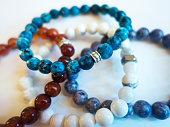 Multi colored  Stone Bracelets