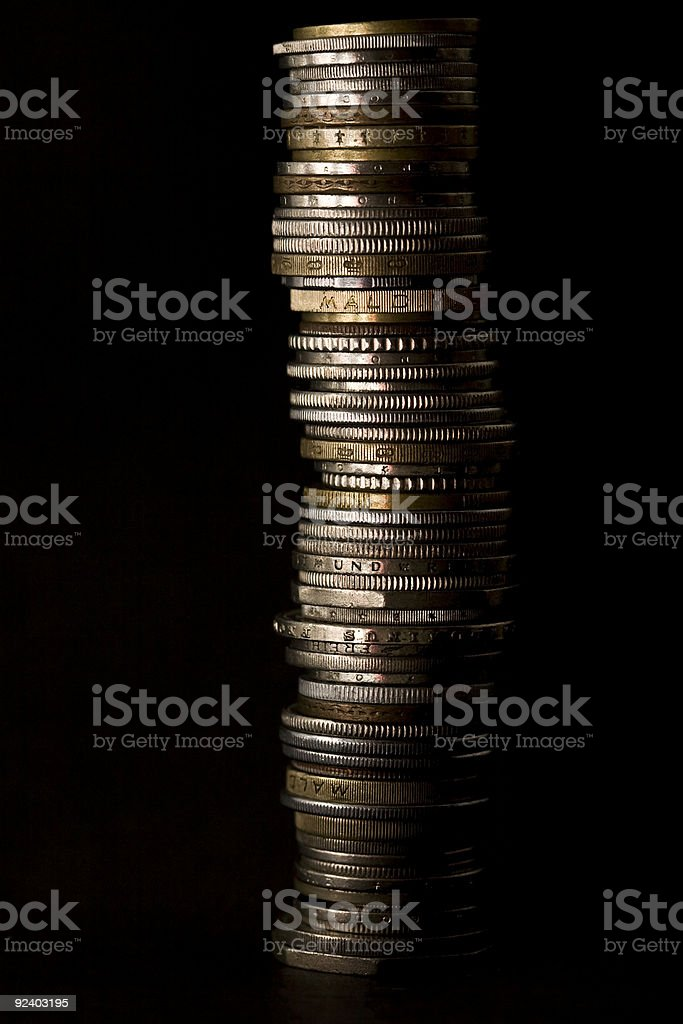 Multi Cultural Currency royalty-free stock photo